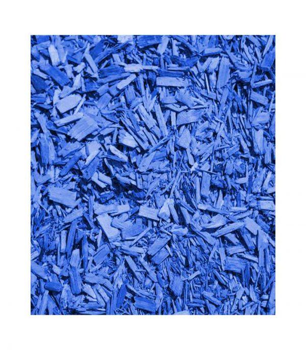 Malč dekorativni plavi